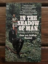 Jane Goodall In The Shadow Of Man 1st Dell PB 1972