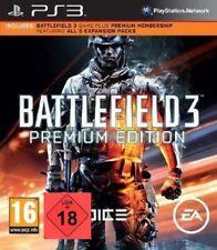 PS3 Juego Battlefield 3 Premium Edición Con 5 Digital Ampliaciones Nuevo