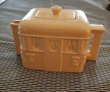 Sigma Teapot American Roadside Diner Yellow Ceramic John Baeder Tastesetter