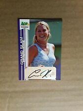 2013 Ace Authentic Anna Kournikova Grand Slam Autograph Insert Card 14/15