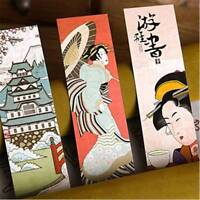 30pcs/lot Lovely Paper Bookmark Vintage Japan Style Book Marks For Kid supplies