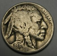 1936-D Buffalo Nickel Grading VG to FINE Nice Original Coins DUTCH AUCTION