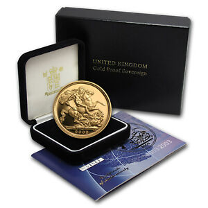 2000-2013 Great Britain Gold Sovereign Proof