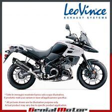 SUZUKI V-STROM 1000/1000 XT ABS 2018 18 LEOVINCE EXHAUST NERO STEEL 14047