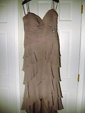 Jovani special occasion dress - size 14 - taupe (MR145)