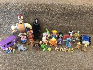 Vintage Toy Bundle Attic Find Retro 8s 90s Polly pocket Keyper Disney Various