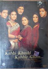 KABHI KHUSHI KABHIE GHAM - BOLLYWOOD DVD - Amithab Bachchan & Shahrukh Khan