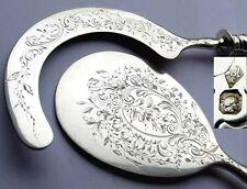Rarezas antigüedades set, eissichel + eisvorleger, francia, plata, XIX JH. f48