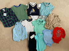 Baby Boys 6-12 Months Lot Of Clothes