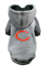 Chicago Bears NFL Little Earth Production Dog Pet Crewneck Gray Hoodie