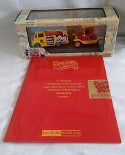 LLEDO BEANO 2 MODEL SET VANS 65 YEARS DIECAST BOXED + REPRO COPY OF COMIC SEALED
