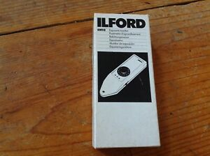 ILFORD EM10 DARKROOM EXPOSURE MONITOR COMPLETE IN BOX TESTED MADE IN ENGLAND