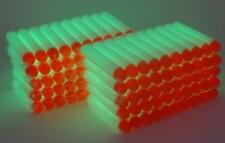 100 Glow in the Dark Foam Darts For Nerf N-Strike Fast Shipping! USA Seller