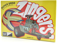 "MPC ""Super Drag"" Zingers Dragster Plastic Model Car Kit 737"