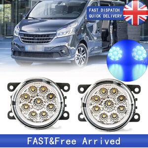 Left Right Side Front Fog Lights Lamps For Renault Thalia MK2 MK3 08-20 Trafic 3
