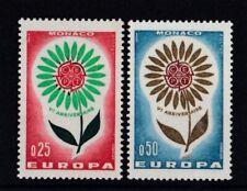 Monaco 1964 postfrisch Europa CEPT MiNr. 782-783