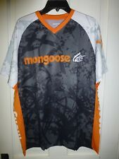 Mongoose BMX Bikes T Shirt 100% Polyester Moisture Wicking Fabric Mens Large