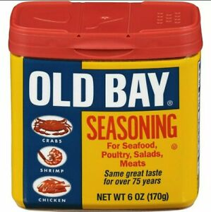 OLD BAY Seasoning 6 OZ NEW Free Shipping