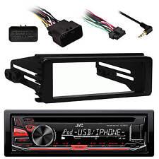 KDR670 AUX AM FM CD USB Car Radio, 98-2013 FLHX Harley 98-2013 Installation Kit