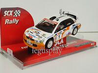 """Slot Car Scalextric Scx 63600 Mitsubishi Lancer Evo VIII """" Singola """" #1"""