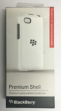 New OEM Blackberry Q5 Premium Shell Cover Case + Screen Protector Retail White
