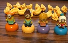Game of Life Despicable Me Replacement Bananas 17 Pieces & 4 Minions Used