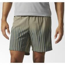 Adidas Mens Supernova Shorts Black Football Gym Sports Running Green Short
