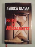 D798 PRIMA DI MEZZANOTTE ANDREW KLAVAN EUROCLUB ITALIA 1° EDIZIONE 1996