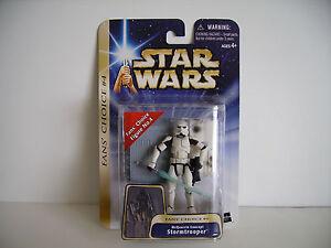 Star Wars SAGA Gold McQuarrie Concept Stormtrooper Figure HTF