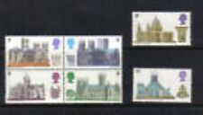 Gr Britain 1969 Cathedrals   postfris/MNH