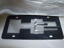 H2 Hummer Laser License Plate Black/Silver NEW!!