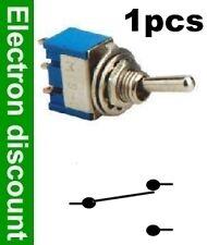 934/1# Interrupteur à levier 2 positions 1 contact -1pc