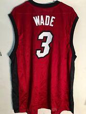 Adidas NBA Jersey Miami Heat Dwayne Wade Red Lim Edit sz XL