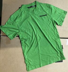 Kawasaki New Genuine Original Motorcycle Motorbike Tee T-Shirt - Small / S