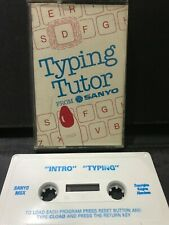 MSX Computer Game - TYPING TUTOR  - Rare, Working.