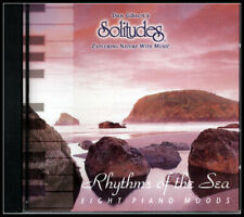 Rhythms of the Sea CD, Eight Piano Moods,Music with Nature Sounds New and Sealed