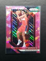2018-19 Prizm Troy Brown Jr. RC, Rookie Pink Ice Holo, Wizards / Bulls