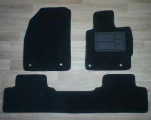 Front & Rear Car Floor Mats Made to Fit Mazda CX-7 (CX7): 11/2006 - 01/2012