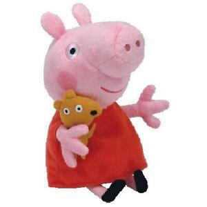 1 X ORIGINAL TY BEANIE BABIES PEPPA PIG OR FRIENDS SOFT TOY PLUSH