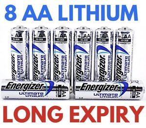 4x Energizer Ultimate Lithium Batterie AA-Mignon MN1500 LR6 L91