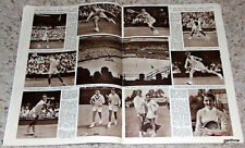 Tennis 1957 Wimbledon Pictorial Feature Lew Hoad Neale Fraser Ashley Cooper