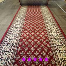 Orientalischer Läufer Meterware Rot 67,100 und 120 cm Breite beliebige Längen
