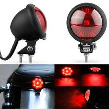 Motorcycle Tail Light LED Rear Brake Lamp for Cruiser Cafe Racer Bobber Chooper