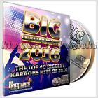 Mr Entertainer Big Karaoke Hits 2016 - 40 Chart Tracks on 2 CD+G/CDG Discs Set