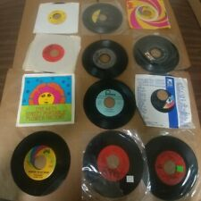 """18 60S PSYCHEDELIC ROCK 45rpm 7"""" Lot STRAWBERRY ALARM CLOCK LEFT BANKE HOLLIES"""