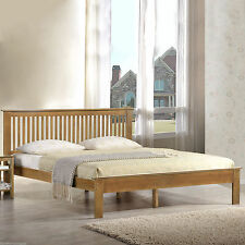 New Oak Finish Windsor 5ft Kingsize Wooden Bed Frame