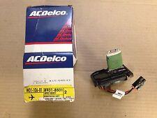 AC Delco 15-80543 GM 89018501 Blower Motor Resistor 97-02 Corvette NEW OEM