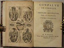 "J. P. FLORIAN ""GONZALVE DE CORDUE"" / GESCHICHTE RECONQUISTA, um 1795, 3 Bde."