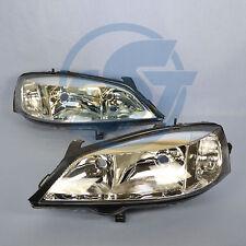 2x Scheinwerfer Opel Astra G links + rechts Set Klarglas NEU 1998-2004 H7