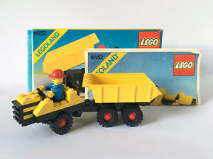 Vintage LEGO Town 6652 Construction Truck (1983) Boxed, Instructions, Complete